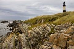 Faro del Pembroke del cabo - Islas Malvinas Imagen de archivo libre de regalías