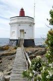 Faro del pen¢asco Foto de archivo libre de regalías