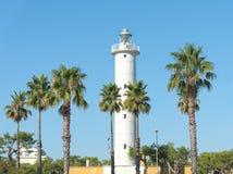 Faro del porto di San Benedetto del Tronto - l'Italia fotografia stock libera da diritti