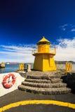 Faro del puerto Imagen de archivo