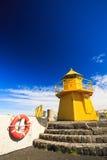 Faro del puerto Imagenes de archivo