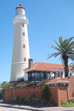 Faro del Punta del Este, Uruguai Fotografia Stock