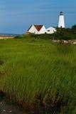 Faro del punto de Lynde de Connecticut en Nueva Inglaterra Imágenes de archivo libres de regalías