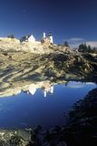Faro del punto de Pemaquid, YO Foto de archivo libre de regalías