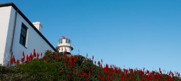 Faro del punto del cabo Foto de archivo libre de regalías