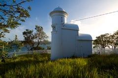 Faro del punto della grotta, Sydney Harbour, Australia Immagini Stock Libere da Diritti