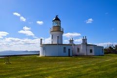 Faro del punto di Chanonry in Scozia Fotografia Stock Libera da Diritti