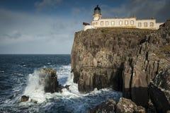 Faro del punto di Neist, Skye Immagine Stock