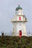 Faro del punto di Waipapa Fotografie Stock Libere da Diritti