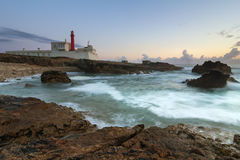 Faro del raso de Cabo imagen de archivo libre de regalías