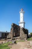 Faro - del Sacramento, Uruguay de Colonia Foto de archivo libre de regalías