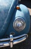 Faro dell'automobile dell'annata Immagine Stock Libera da Diritti