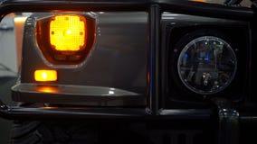Faro dell'automobile di SUV fotografia stock libera da diritti