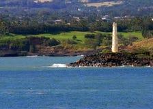 Faro dell'Hawai fotografie stock libere da diritti