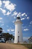 Faro dell'indicatore luminoso del capo della Tabella, Tasmania, Australia Fotografia Stock Libera da Diritti