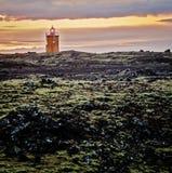 Faro dell'Islanda Immagini Stock Libere da Diritti