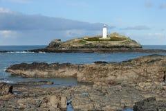 Faro dell'isola Fotografie Stock