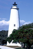 Faro dell'isola del Bodie Fotografie Stock