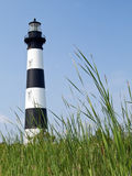 Faro dell'isola del Bodie, banche esterne, Carolina Fotografia Stock