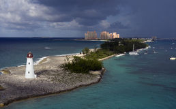 Faro dell'isola del maiale Fotografia Stock Libera da Diritti