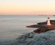 Faro dell'isola del maiale immagine stock