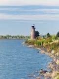 Faro dell'isola del trifoglio. Kennewick, WA Fotografia Stock Libera da Diritti