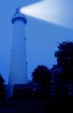Faro dell'isola della st Simons Immagine Stock Libera da Diritti