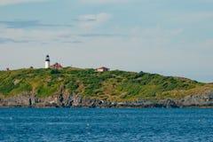 Faro dell'isola dello zecchino Fotografia Stock Libera da Diritti
