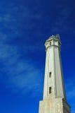Faro dell'isola di Alcatraz Fotografie Stock