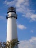 Faro dell'isola di Fenwick Fotografia Stock Libera da Diritti