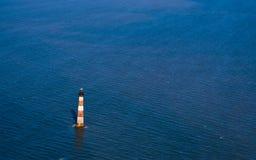 Faro dell'isola di Morris Immagini Stock Libere da Diritti