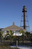 Faro dell'isola di Sanibel immagine stock libera da diritti
