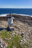 Faro dell'isola di Straitsmouth Fotografie Stock Libere da Diritti
