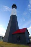 Faro dell'isola di Tybee Fotografia Stock
