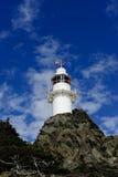 Faro della baia dell'aragosta, Terranova, Canada immagini stock libere da diritti
