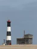 Faro della baia di Walvis Fotografia Stock Libera da Diritti