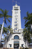Faro della città di Honolulu Immagini Stock Libere da Diritti