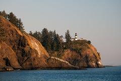 Faro della costa dell'Oregon Fotografia Stock Libera da Diritti