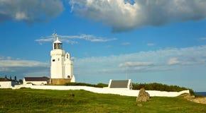 Faro della st Catherine, isola del Wight Immagine Stock