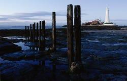 Faro della st Mary Fotografia Stock