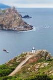Faro delle isole dei cies Fotografia Stock
