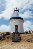 Faro delle isole dei cies Fotografia Stock Libera da Diritti
