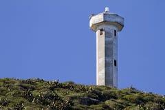 Faro delle isole di Coronado Fotografia Stock