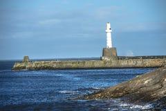 Faro di Aberdeen scotland fotografia stock libera da diritti