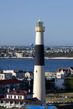 Faro di Absecon a Atlantic City, New Jersey fotografia stock libera da diritti