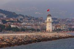 Faro di Alanya La Turchia Immagini Stock Libere da Diritti