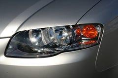 Faro di Audi Immagine Stock