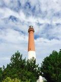 Faro di Barnegat fotografie stock