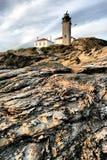 Faro di Beavertail immagine stock