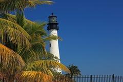 Faro di Biscayne fotografie stock libere da diritti